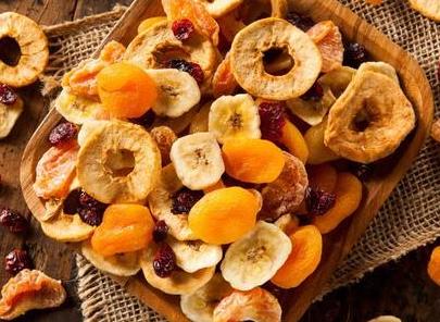 10 postres con fruta deshidratada.