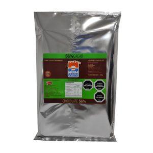 Barra Chocolate Premium 56% Cacao, 1Kg