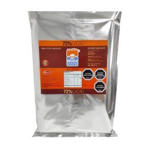 Barra Chocolate Premium 72% Cacao, 1Kg