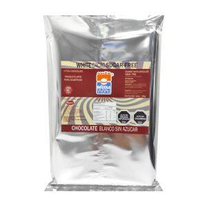 Barra Chocolate Premium Blanco Sin Azúcar, 1kg