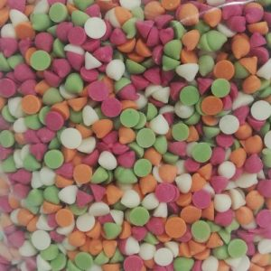 Chips Chocolate Colores 1kg